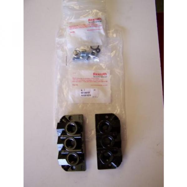 Qty India Egypt 4 Rexroth / Bosch 901-HN1TF Pneumatic Valve Manifold Base Kits New #1 image