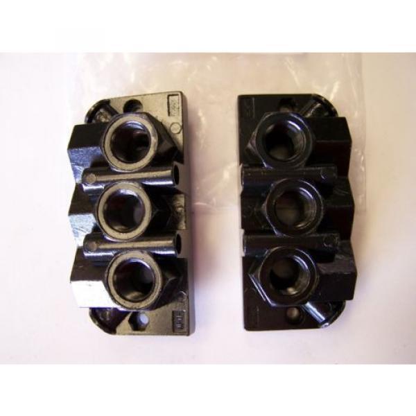 Qty India Egypt 4 Rexroth / Bosch 901-HN1TF Pneumatic Valve Manifold Base Kits New #2 image