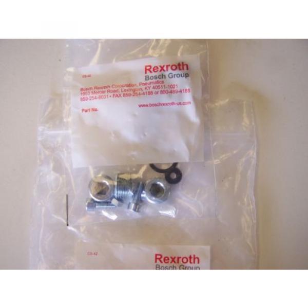 Qty India Egypt 4 Rexroth / Bosch 901-HN1TF Pneumatic Valve Manifold Base Kits New #3 image