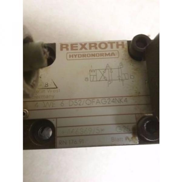 REXROTH VALVE_4 WE 6 D52/OFAG24NK4 #2 image