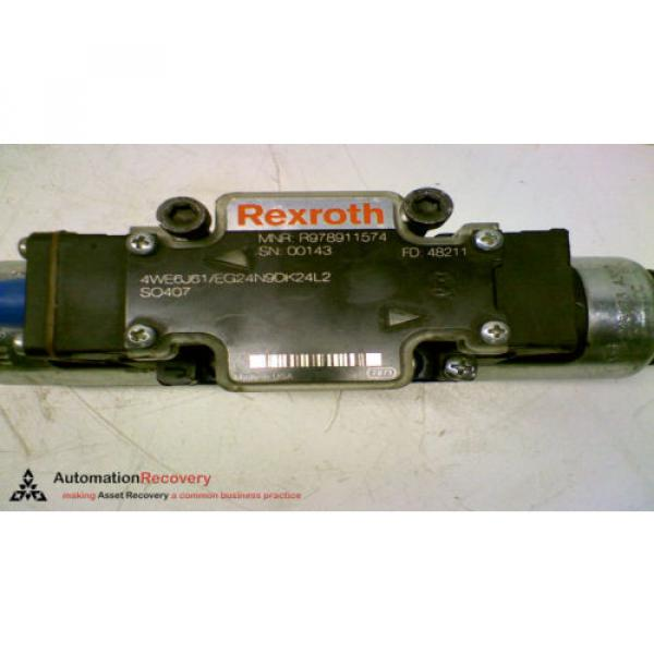 REXROTH R978911574 HYDRAULIC DIRECTIONAL CONTROL VALVE #147676 #3 image