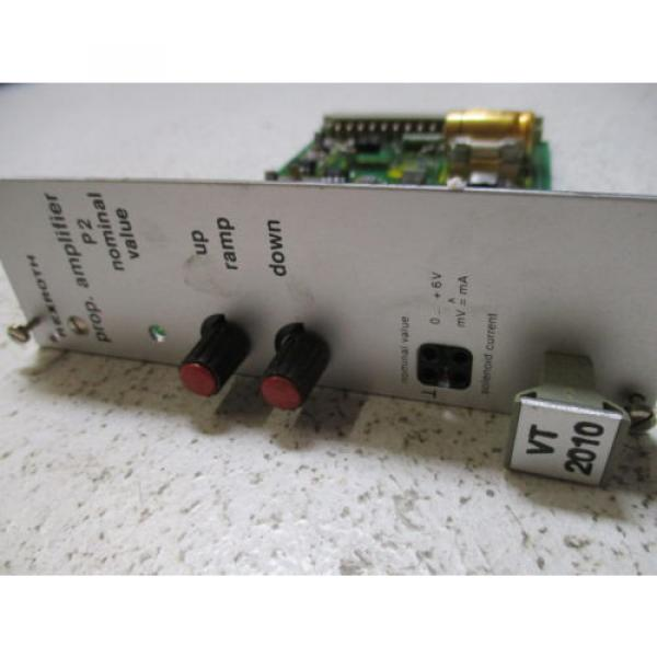 REXROTH Russia Italy VT2010S47/2 AMPLIFIER BOARD *NEW IN BOX* #4 image