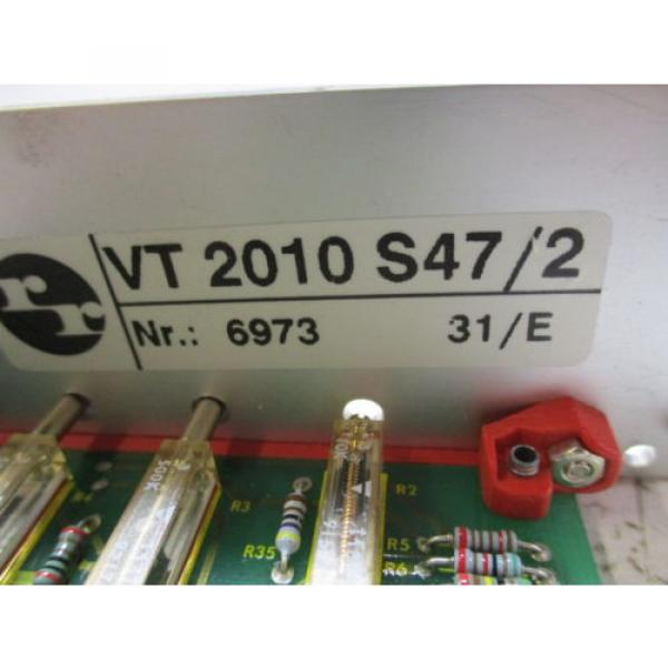 REXROTH Russia Italy VT2010S47/2 AMPLIFIER BOARD *NEW IN BOX* #7 image
