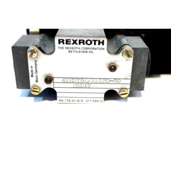 NEW Italy Mexico REXROTH 4WE6Y52/AW120-60 VALVE 4WE6Y52AW12060 #2 image