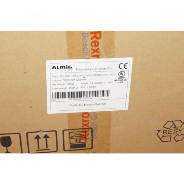 37KW Singapore Canada Bosch Rexroth fecg02.1-37k0-3p400-a-bn-modb-01v01-s001 Almig #1 image