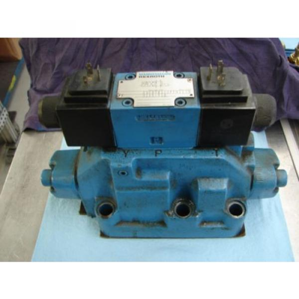 REXROTH DIRECTIONAL VALVE # H 4WEH22HD74/OF6EW110N9 /  4WE6D61/OFEW11ON9Z45/B12 #1 image