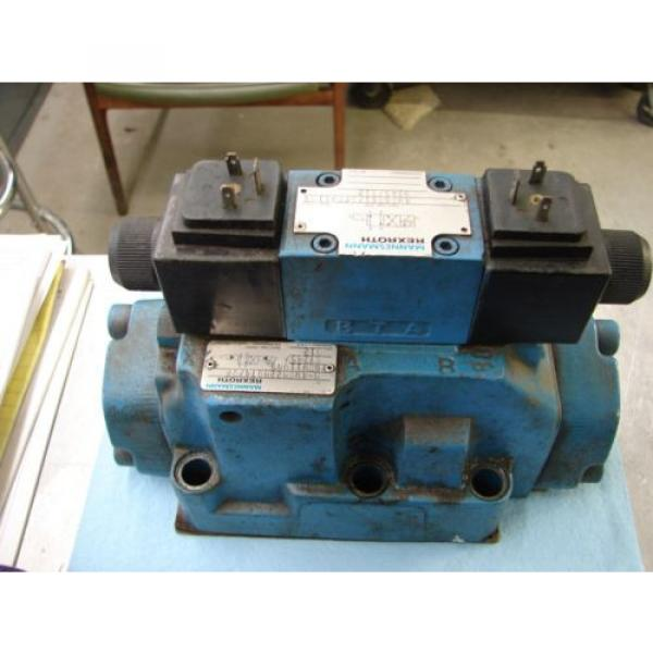 REXROTH DIRECTIONAL VALVE # H 4WEH22HD74/OF6EW110N9 /  4WE6D61/OFEW11ON9Z45/B12 #2 image