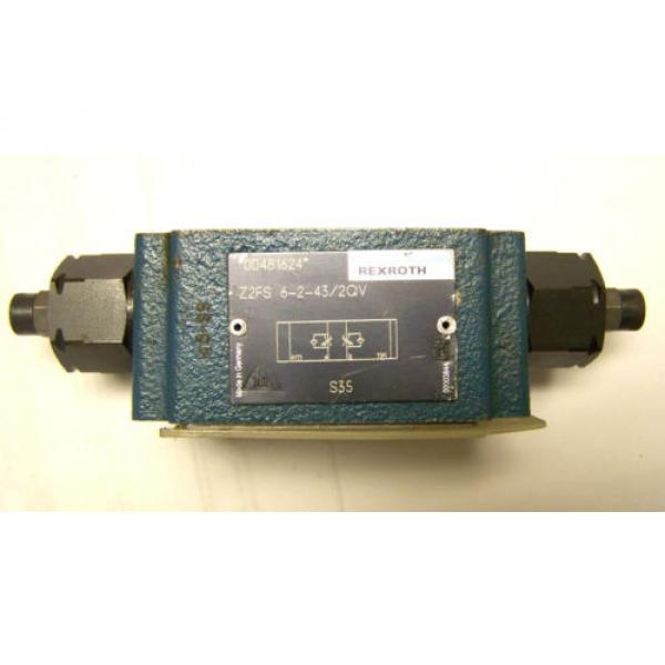 REXROTH Z2FS-6-2-43-2GV FLOW CONTROL VALVE #1 image