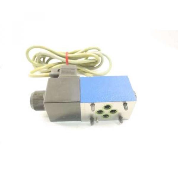 REXROTH 4WE6Y62/EW110N9K4/V/62 120V-AC SOLENOID HYDRAULIC VALVE D549964 #4 image