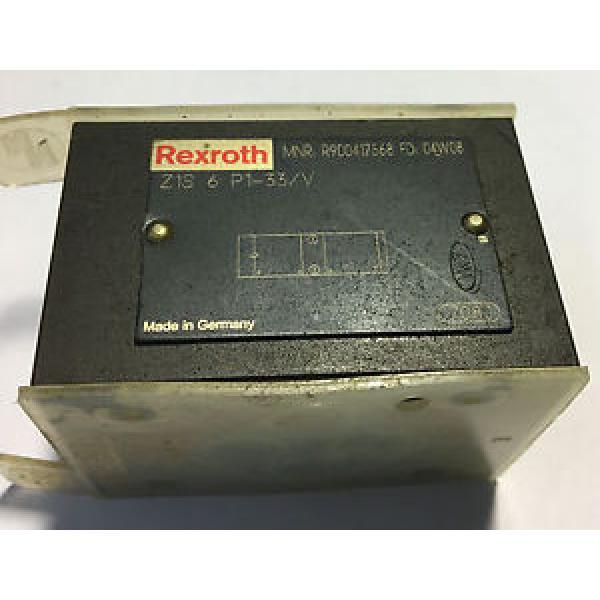 Rexroth China India Z1S 6 P1-33V Hydraulic Check Valve #1 image