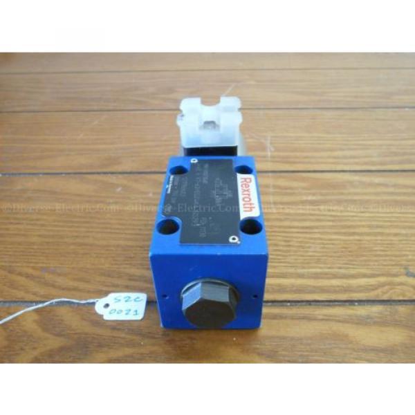 Bosch Italy china Rexroth R900738481 4WE6X7-62/EG24K4 Valve 350 Bar w/ R900221884 Solenoid #3 image