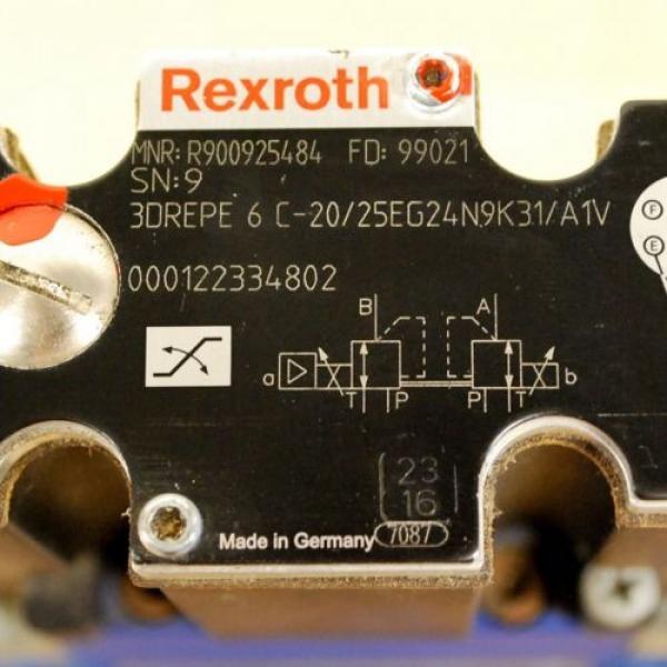 Rexroth 4WRZE25W6-220-70/6EG24N9ETK31/A1D3V Valve, 3DREPE6C-20/25EG24N9K31/A1V #6 image
