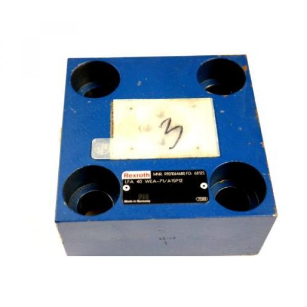REXROTH LFA40WEA-71/A15P12 HYDRAULIC CARTRIDGE VALVE R901064680 Origin #2 image