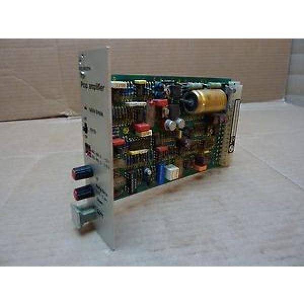 Rexroth Australia Australia Proportional Amplifier Board VT5011 S30 R1 Used #24647 #1 image