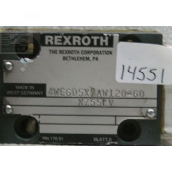 Rexroth Australia Greece 4WE6D5X/AW120-60 Linear Directional Control Valve #3 image