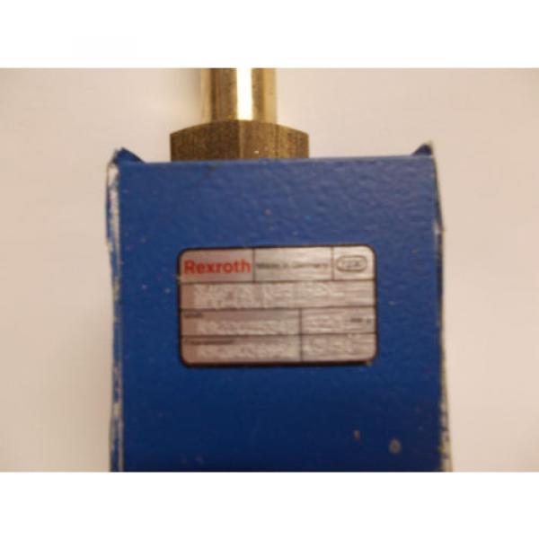 REXROTH HYDRAULIC VALVE 320PZR 025 HGXL 800-V8O-M R928025345 320 BAR G R9280369 #2 image