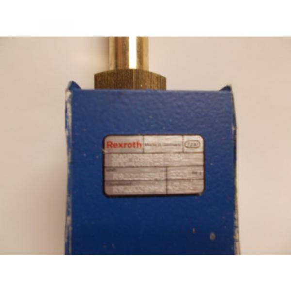 REXROTH HYDRAULIC VALVE 320PZR 025 HGXL 800-V8O-M R928025345 320 BAR G R9280369 #3 image