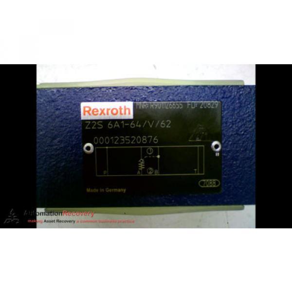 REXROTH Z2S 6A1-64/V/62 CHECK VALVE 315VAR 4568PSI, Origin #163840 #3 image
