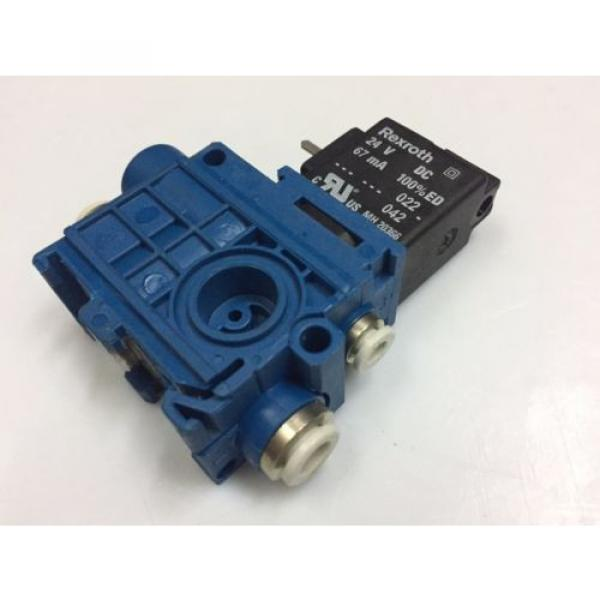 5794470220 India Italy AVENTICS Rexroth Pneumatic Valve  V579-3/2NC-DA06-024DC-04-EV4-EXT #2 image