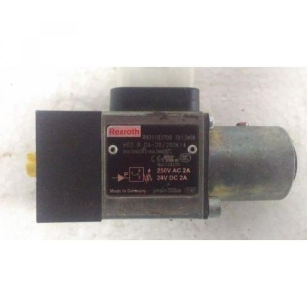 HED8OA-20/200K14,REXROTH Korea Dutch R901102708  HYDRO-ELECTRIC PRESSURE SWITCH #1 image