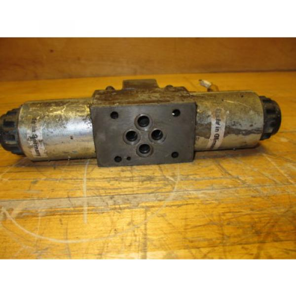 Rexroth 4WE6T60/DG24N9DK24L Hydraulic Directional Valve 24VDC Hydronorma #4 image