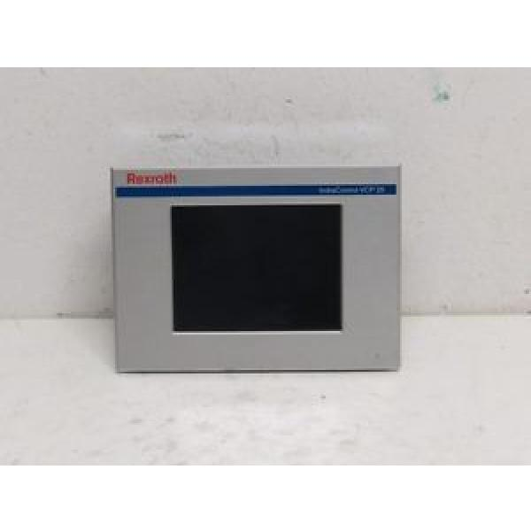 Rexroth Mexico Dutch IndraControl VCP 25 VPC25.2DVN-003-NN-NN-PW TouchScreen Alu. Front #1 image