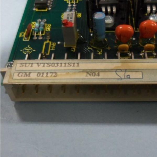MANNESMANN France Italy REXROTH CONTROL CARD SU1 VTS0311S11 #3 image