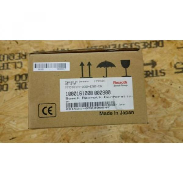 REXROTH Mexico Japan INDRAMAT SERVO MOTOR MMD022A-030-EGO-CN *NEW FACTORY SEAL* #2 image