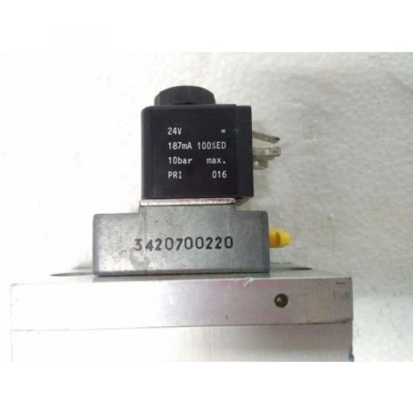 3723572220 REXROTH PNEUMATICS 3/2 WAY SOLENOID VALVE 24VDC Aventics Wabco Marine #3 image