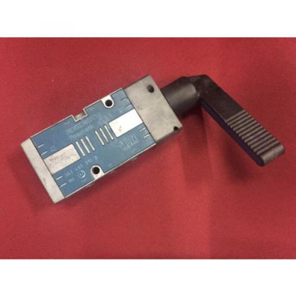 REXROTH 5634650100 Selector Type 5/2-way 1/4 Pneumatic Valve CD7 series #1 image