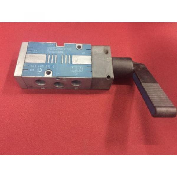REXROTH 5634650100 Selector Type 5/2-way 1/4 Pneumatic Valve CD7 series #2 image