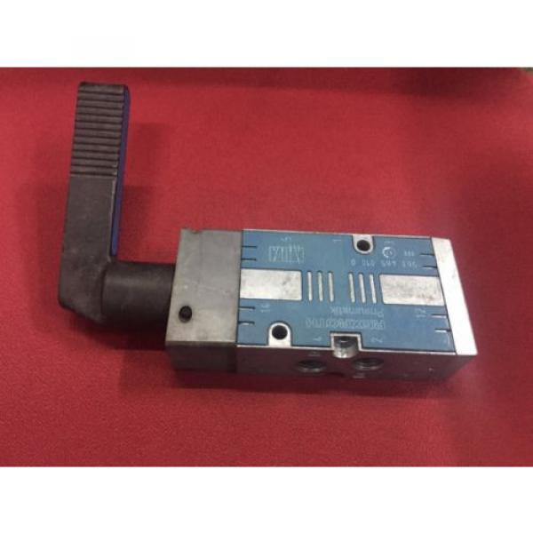 REXROTH 5634650100 Selector Type 5/2-way 1/4 Pneumatic Valve CD7 series #3 image