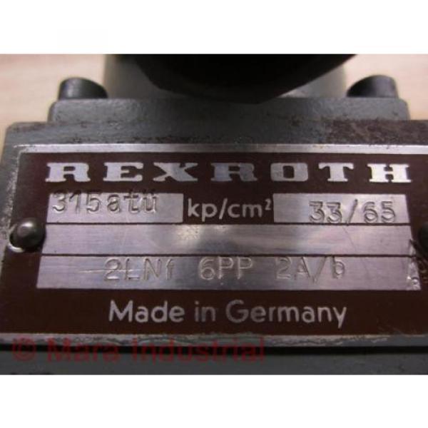 Rexroth 2LNF 6PP 2A/B Control Valve - origin No Box #2 image