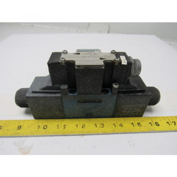 Mannesmann Rexroth 4WE6D61/EW110N Double Solenoid Operated Directional Valve #1 image