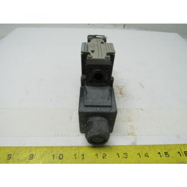 Mannesmann Rexroth 4WE6D61/EW110N Double Solenoid Operated Directional Valve #2 image