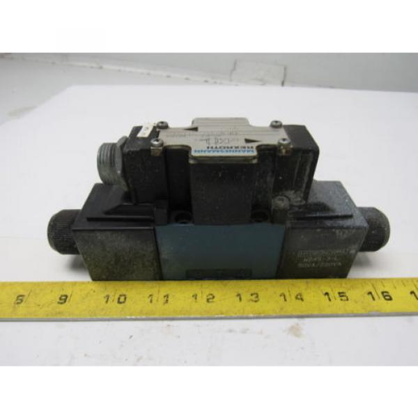 Mannesmann Rexroth 4WE6D61/EW110N Double Solenoid Operated Directional Valve #3 image