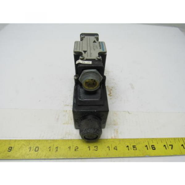Mannesmann Rexroth 4WE6D61/EW110N Double Solenoid Operated Directional Valve #4 image