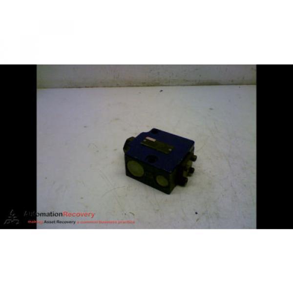 REXROTH SV 10 GA1-42 HYDRAULIC VALVE CHECK PRESSURE RELIEF #167150 #1 image
