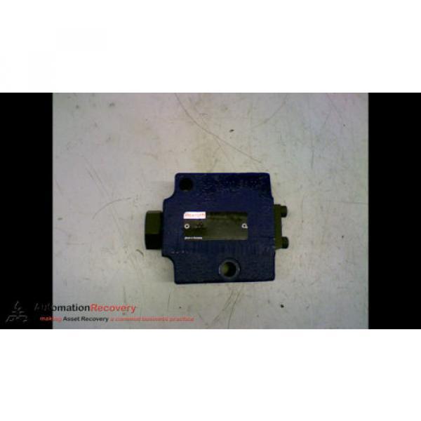 REXROTH SV 10 GA1-42 HYDRAULIC VALVE CHECK PRESSURE RELIEF #167150 #2 image