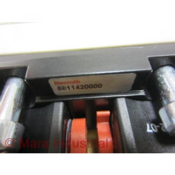 Rexroth India Korea Bosch 5811420000 Valve R402002295 - New No Box #5 image