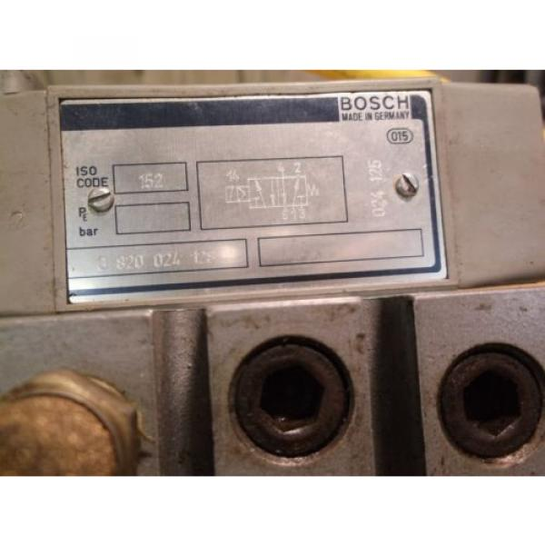 Bosch 0 820 024 128 Rexroth Valve Assembly 1B24210 221 FREE SHIPPING #2 image