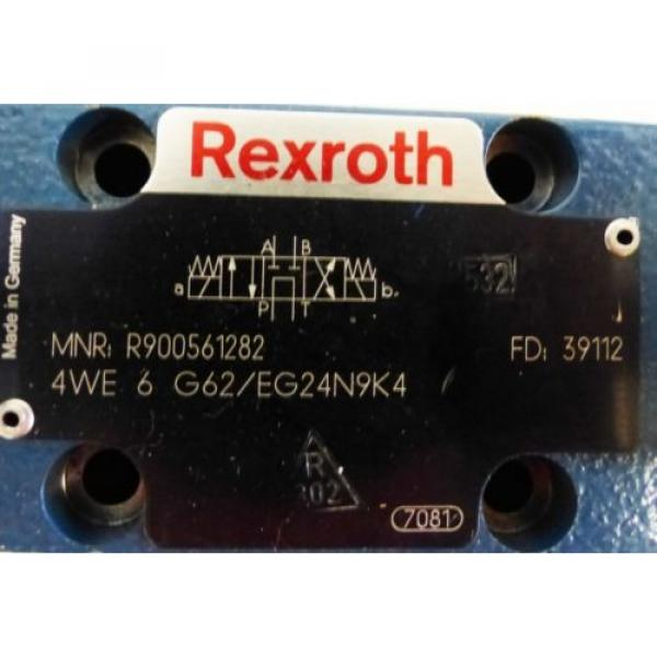 Rexroth 4WE 6 G62/EG24N9K4 4WE6G62/EG24N9K4 R900561282 Valve -used- #2 image