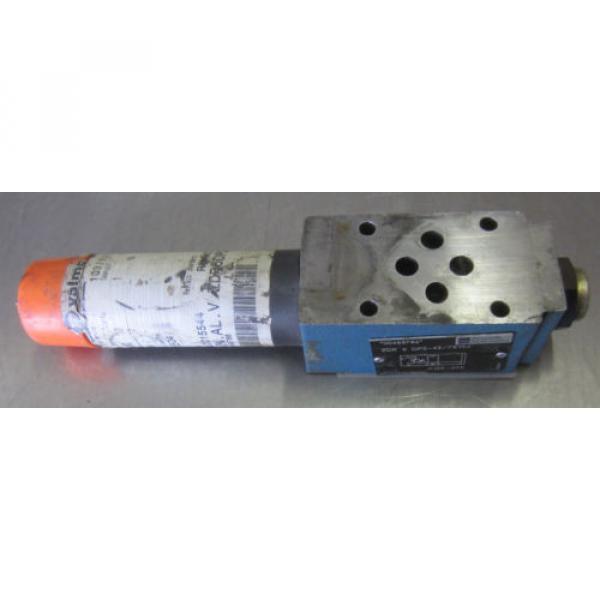 Rexroth ZDR-6-DP2-43/75YM Hydraulic Valve ZDR6DP2-43/75YM #2 image