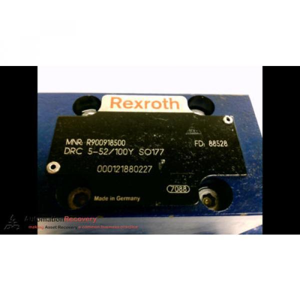 REXROTH R900918500 HYDRAULIC VALVE, SEE DESC #1 image