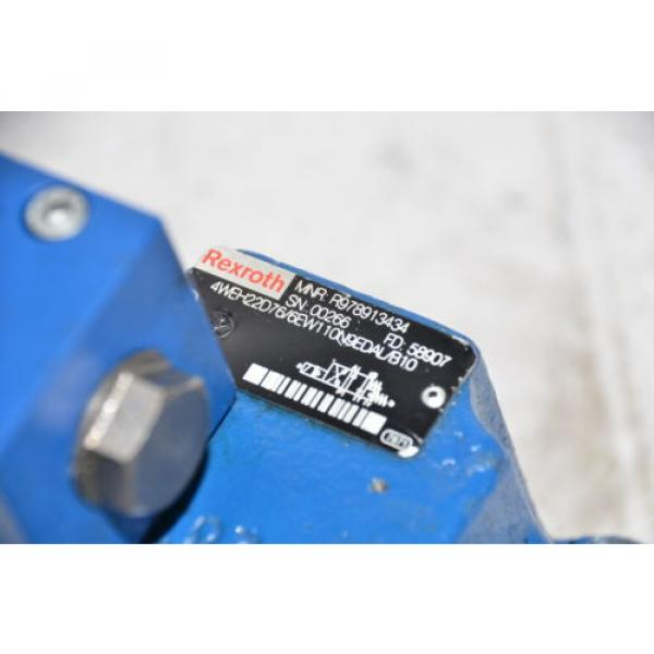 BOSCH REXROTH R978913434 Directional Valve 4WEH 22 D7X/6EW110N9EDAL/B10 #8 image