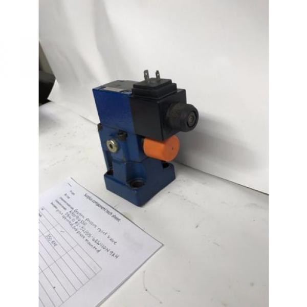 Rexroth pressure relief valve R900906350 #2 image