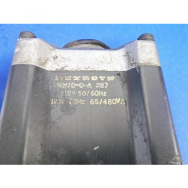 REXROTH Singapore Dutch 4WE10GXX/ANDLV/AS55110/120 VOLTS 50/60 HERTZ HYDRAULIC VALVE #3 image