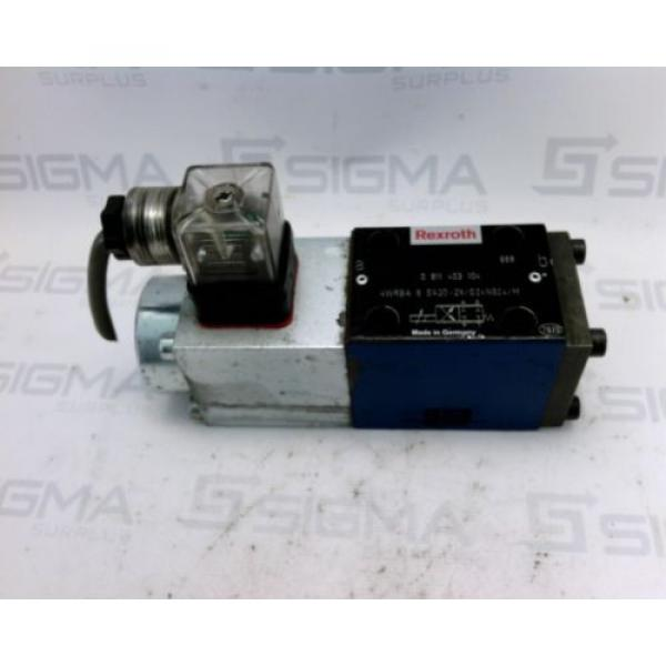 Bosch Rexroth 0811403104  Hydraulic Proportional Directional Control Valve #2 image