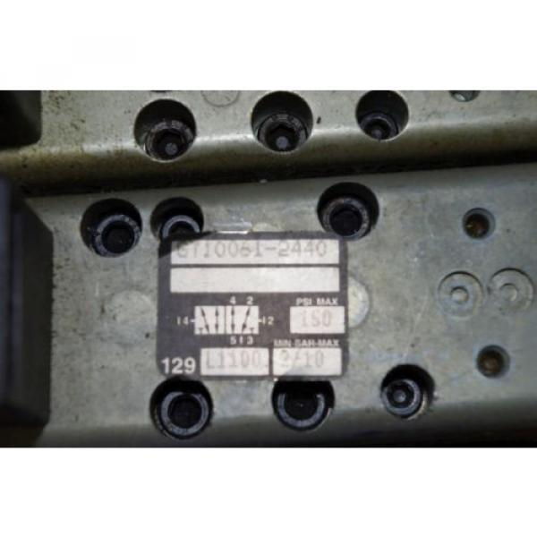 Rexroth Ceram 6-Valve Air Control Manifold GT10061-2440 GT10032-2626 #3 image