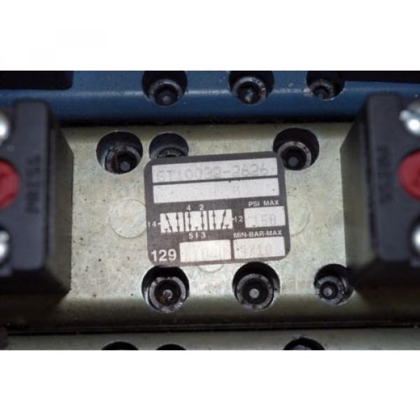 Rexroth Ceram 6-Valve Air Control Manifold GT10061-2440 GT10032-2626 #4 image